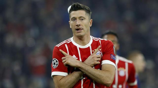 Lewandowski: Rumor ke Madrid Cuma Omong Kosong