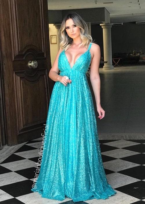 vestido tiffany para madrinha de casamento