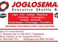 Jadwal Joglosemar Executive Shuttle Jogja - Semarang PP