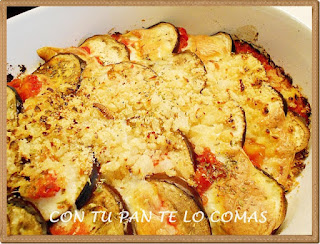 Berenjenas con mozzarella - Berenjenas con mozzarella ...
