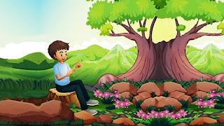 Il ragazzo e l'albero delle mele