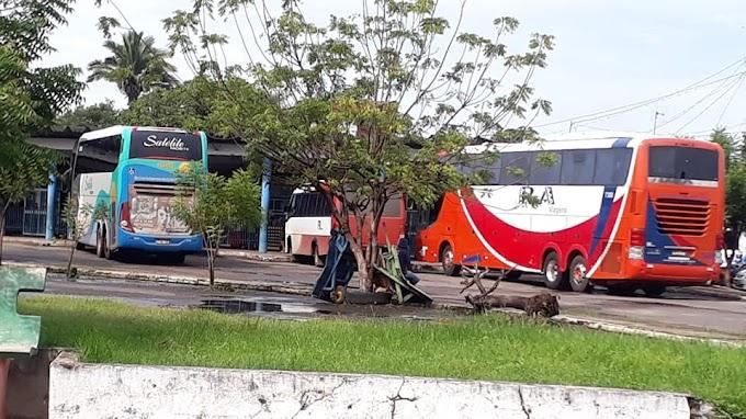 Ônibus Começam a circular na rodoviária de Bacabal. O COMERCIO DEVE SER LIBERADO AINDA NESTE MÊS.