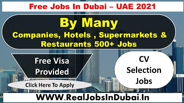 New Jobs In Abu Dhabi  UAE 2021