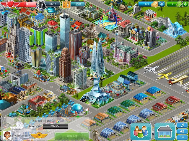Airport City: Airline Tycoon-Fredain.com
