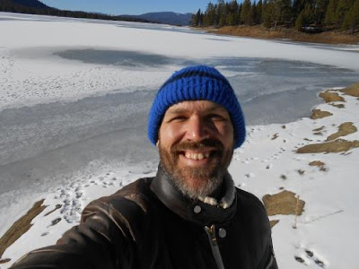 winter, spiritual rest, spiritual teacher, frozen lake, winter break
