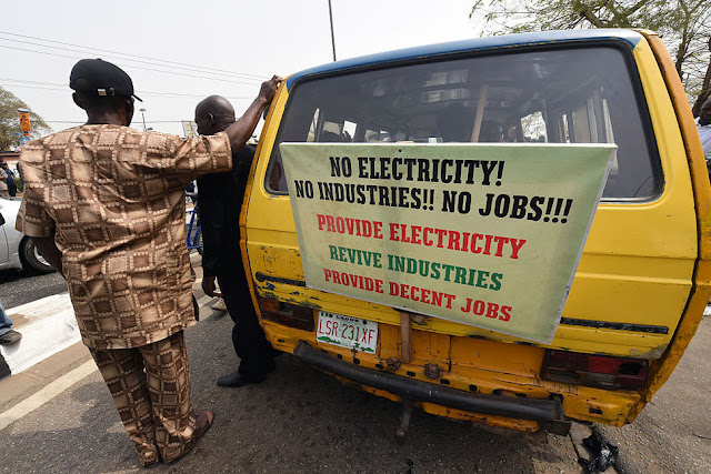 People demonstrate against a rise in electricity prices in Lagos, Nigeria. 10 most corrupt countries, ranked by perception 1