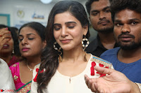 Samantha Ruth Prabhu Smiling Beauty in White Dress Launches VCare Clinic 15 June 2017 052.JPG