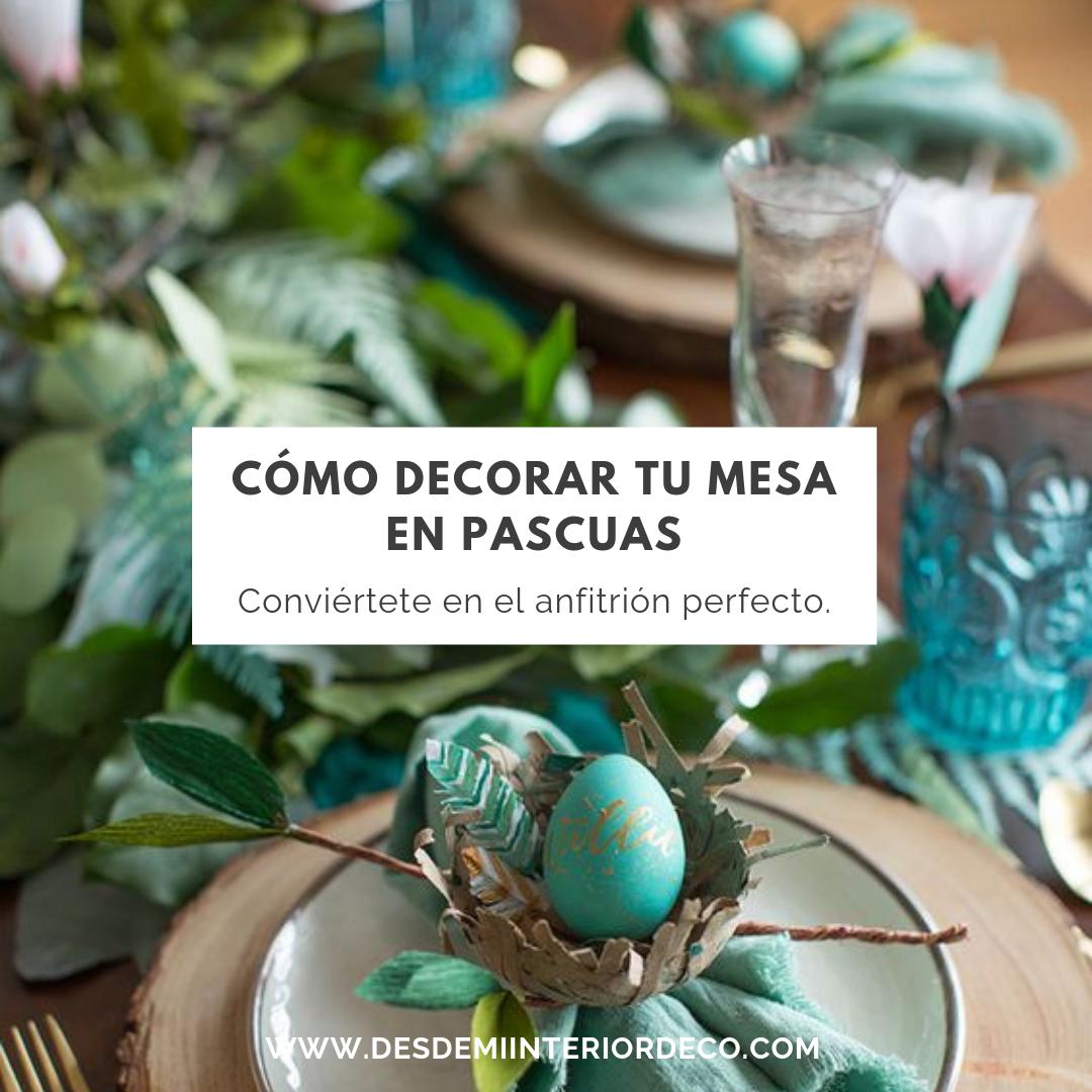 como decorar mesa para pascuas semana santa fácil y económico happy easter