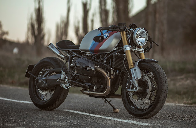 BMW R Nine T By TooHard Motor Hell Kustom