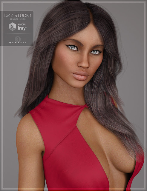 Shania for Genesis 3 Female