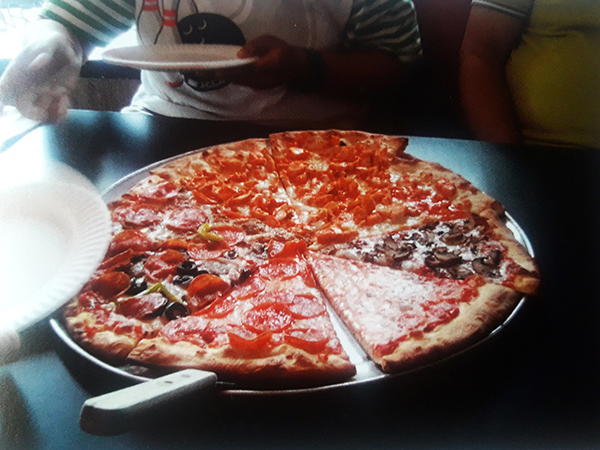 pizza for lunch