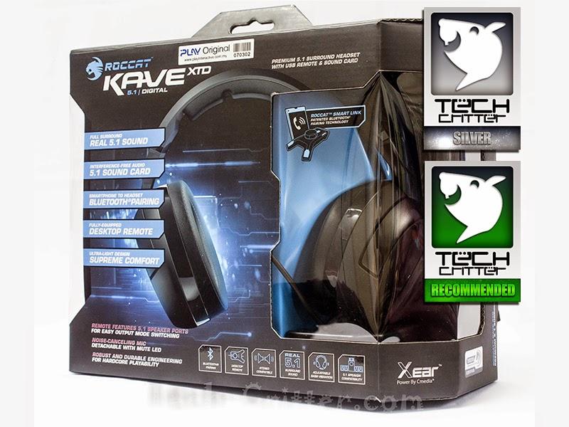 Unboxing & Review: Roccat Kave XTD 5.1 Digital Surround Sound Headset 78