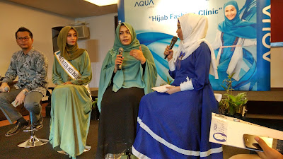 Inovasi Baru di Hijab Fashion Clinic by Aqua Japan Catatan Evhy