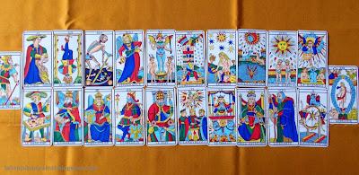 Arcanos Mayores del Tarot de Marsella de Camoin Jodorowsky