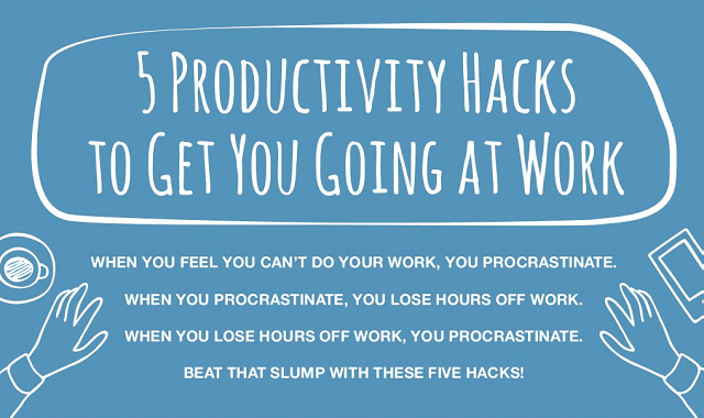 5 Productivity Hacks to Get You Going at Work