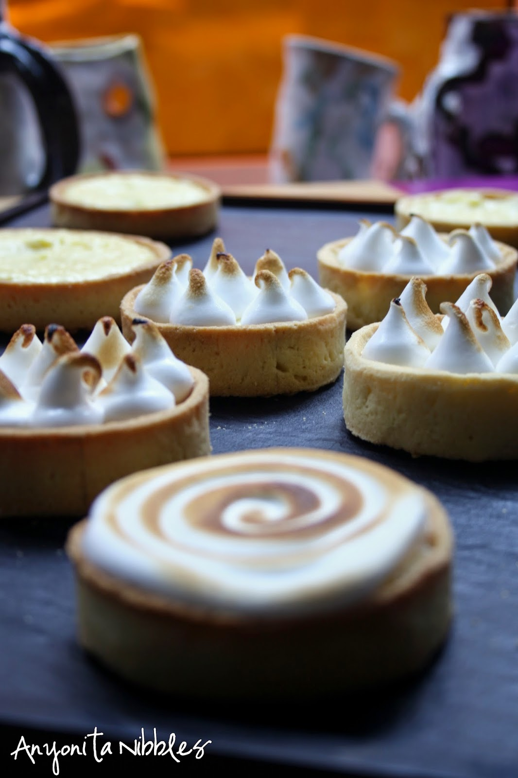 Assorted Lemon Meringue Tarts from Anyonita Nibbles