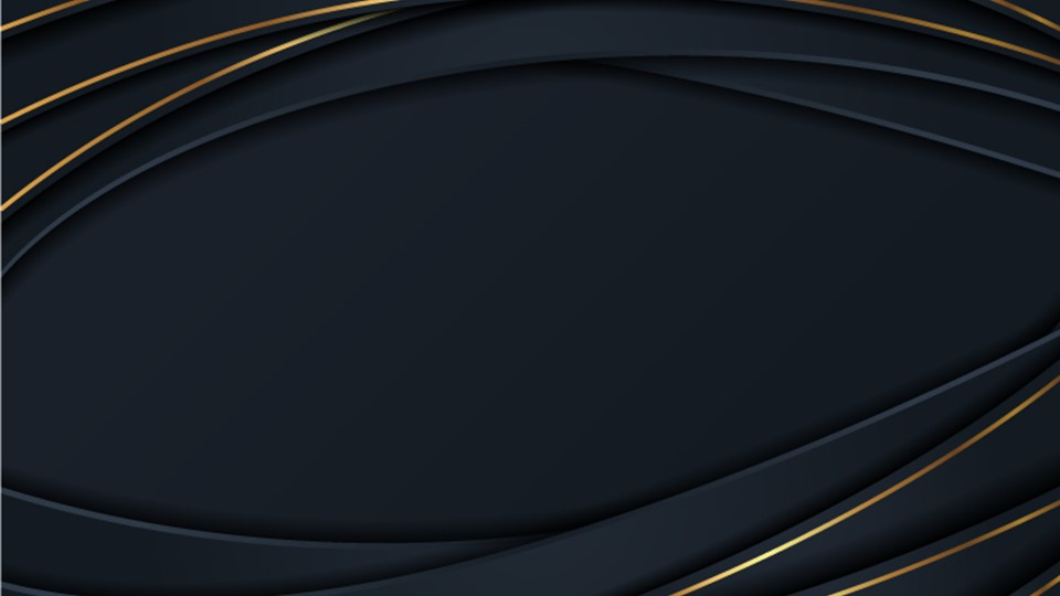 Luxury abstract ppt background in navy blue