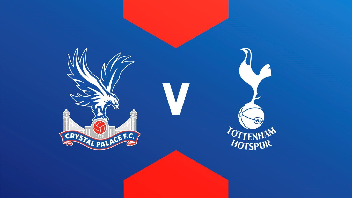 Which channel is broadcasting Crystal Palace vs Tottenham in the Premier League?