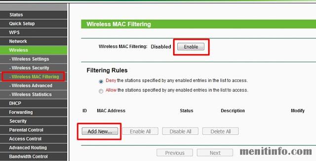 blokir pengguna wifi