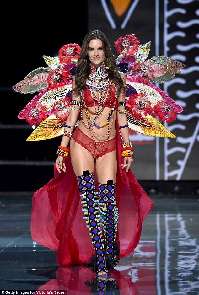 Alessandra Ambrosio walks FINAL VS Show and retires as Angel