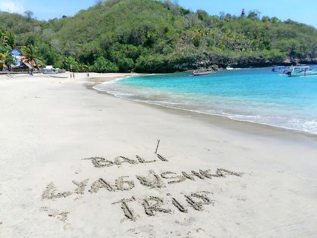 пляж Nusa Penida