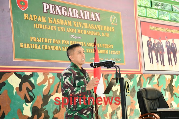 Kasdam Hasanuddin Tinjau Lokasi TMMD ke-108 di Wilayah Kodim 1410/Bantaeng dan Kodim 1425/Jeneponto