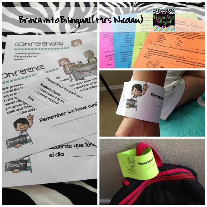 Brinca Into Bilingual (Mrs  Nicolau): Parent-Teacher