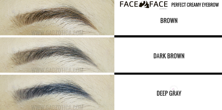 Face2Face Perfect Creamy Eyebrow