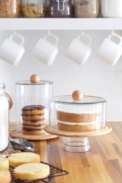 como fazer um prato de bolo