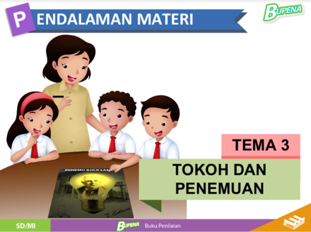 Media Belajar Power Point Kelas 6 SD/MI Tema 3