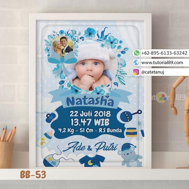Biodata Bayi Costume Unik Kode BB53 | Bunga BIru - Toko ...