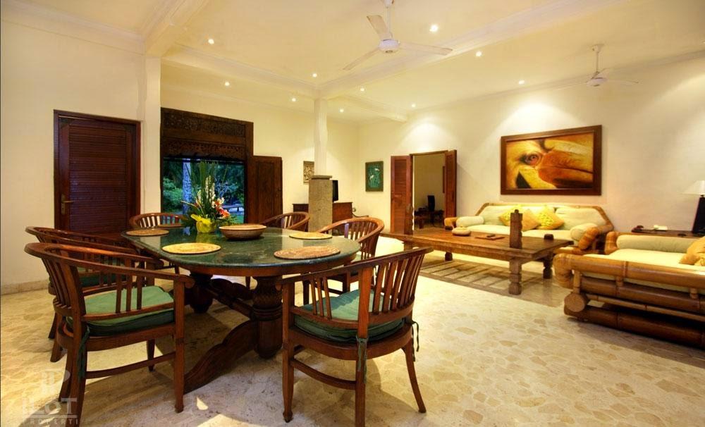 Foundation Dezin & Decor...: Living Room Cum Dining Space.