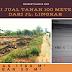 Tanah Dijual 100 Meter Dari Jalan Lingkar Luas Tanah 1760 M²