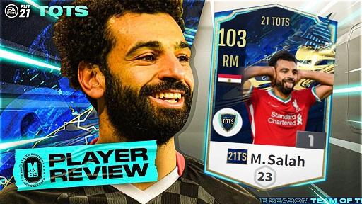 FIFA ONLINE 4   Review Mohamed Salah 21 TOTS - ngôi sao Ai Cập