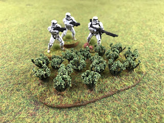 Space foliage scenery for Star Wars Legion