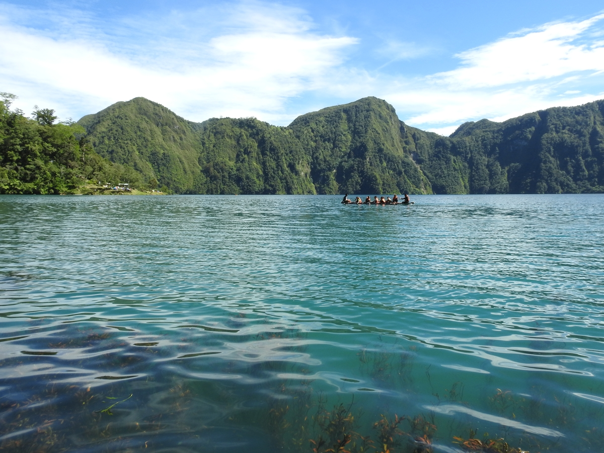 Enchanting Lake Holon