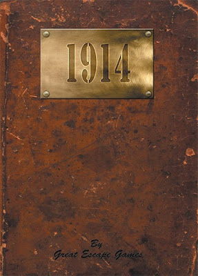 1914 Rule Book & Card Deck from Great Escape Games