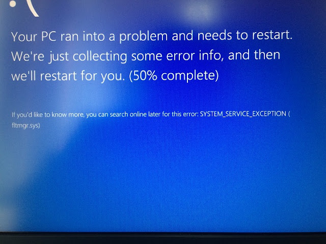 Fix fltmgr.sys BSOD or Blue Screen Error in Windows 10