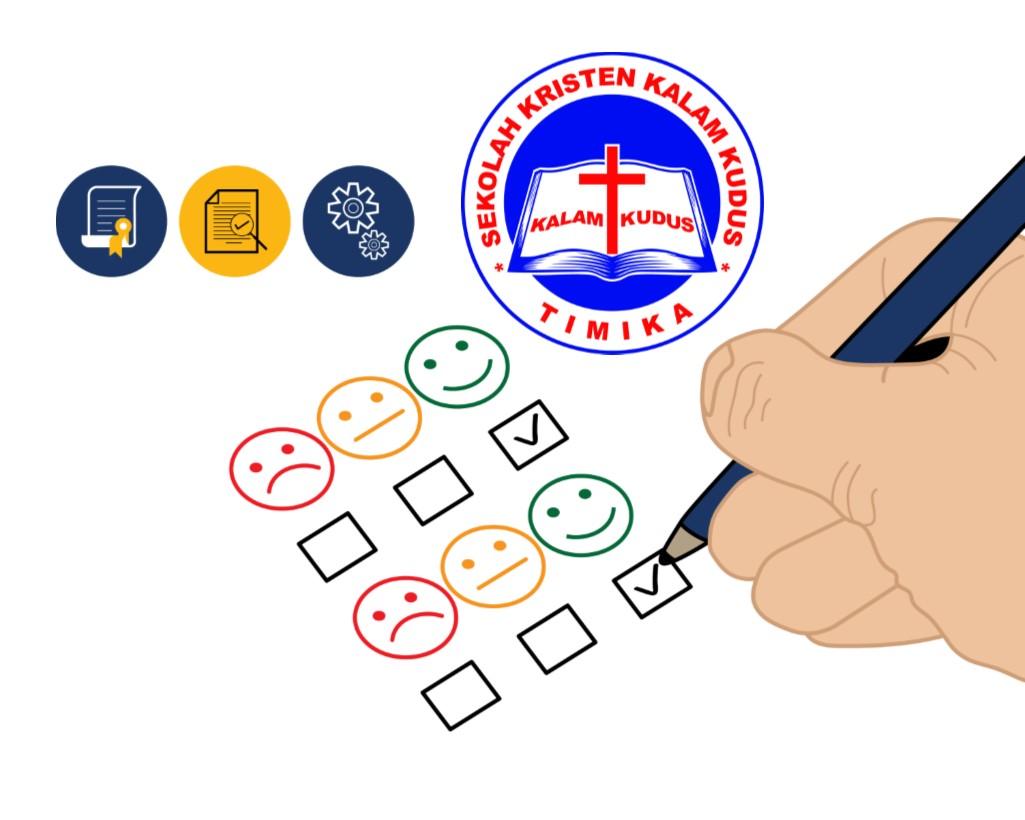 Lembar Evaluasi Online Sekolah Kristen Kalam Kudus Timika