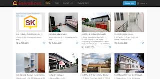 Cari Kos, Kontrakan, Apartemen Online Bulanan Tahunan Harian Lengkap