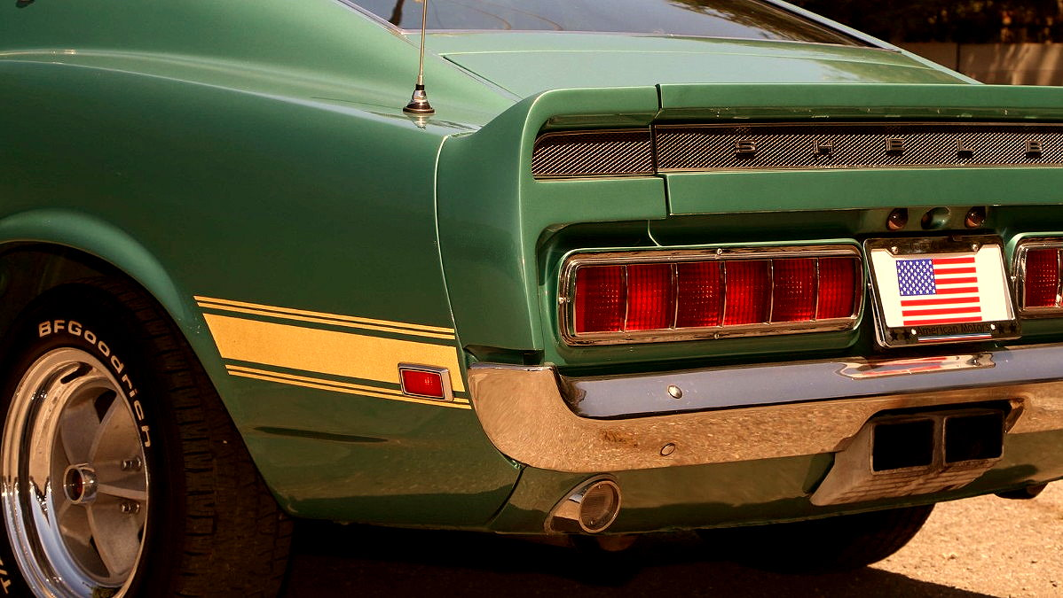 Muscle Car Collection 1969 Ford Mustang Shelby Gt500 Fastback 428 Ram Air Cobra Jet Rear Lamp