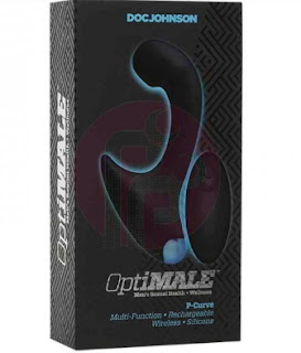 OptiMALE Vibrating P-Massager with Wireless Remote