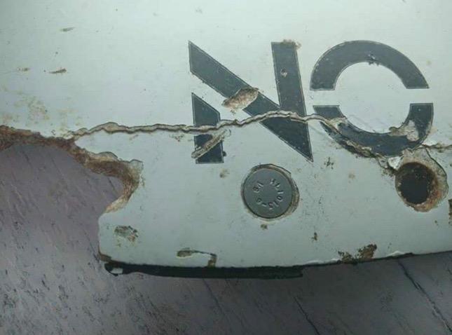 Serpihan MH370 Ditemui di Mozambique