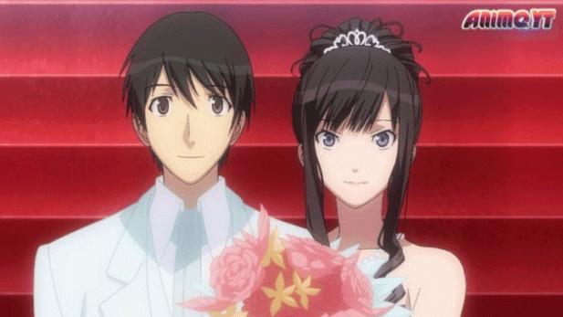 Amagami SS - Daftar Anime Romance Ending Menikah