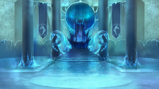 Aventura de Navidad para Dungeons & Dragons - La Frontera del Invierno (4ª Parte) - Laberinto de Cristal