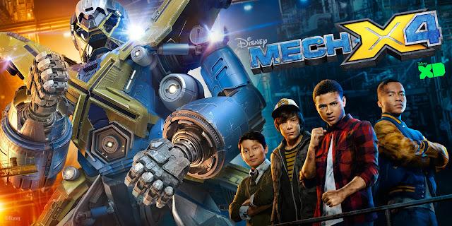 "Disney XD Premiers ""MECH-X4"" #Adventure #Comedy Series @Dstv @DisneyXD #SouthAfrica"