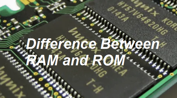 dissference between ram and rom