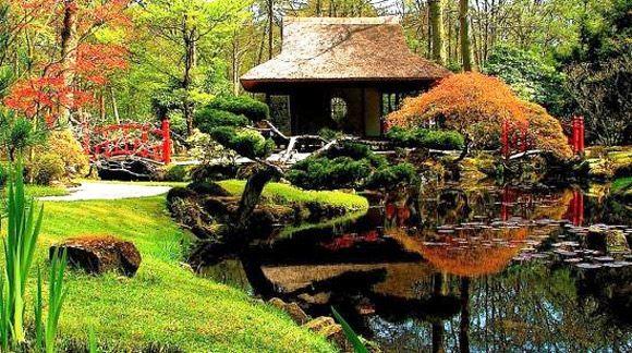 Model Desain Taman Jepang Minimalis
