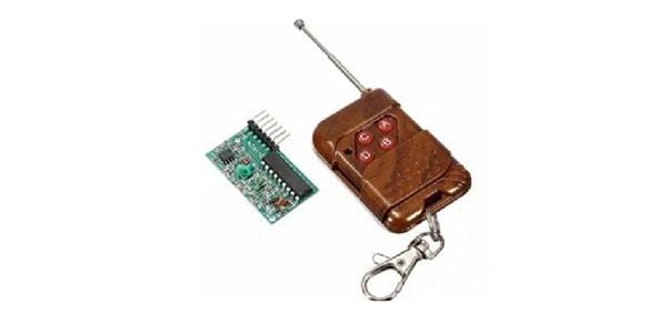 điều khiển chuyển mạch bằng sóng RF.