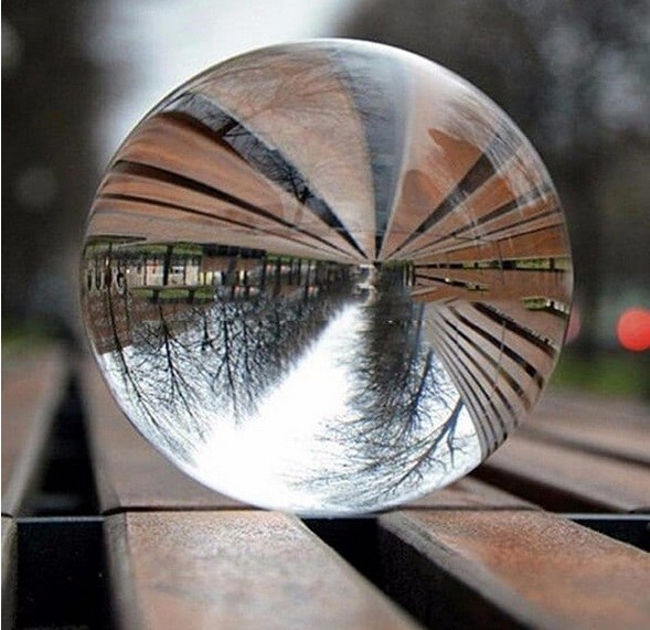 esfera decorativa de cristal 30mm